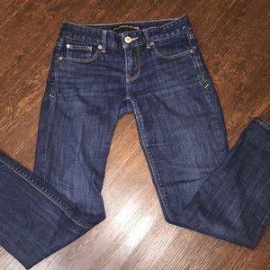 Express Skinny Stella Low Rise Jeans Sz 0
